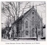 The Olde North Chapel as a United Brethren Church in 1906.  Richmond, Indiana.  It hasn't changed much at all since then.